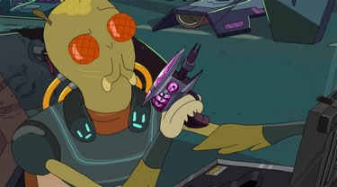Andy Daly voiced Krombopulos Michael on 'Rick and Morty'.