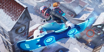 Fortnite Week 4 Snowfall Loading Screen