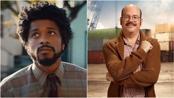 "Lakeith Stanfield as Cassius ""Cash"" Green in 'Sorry to Bother You' and David Cross as Tobias Fünke from 'Arrested Development'."