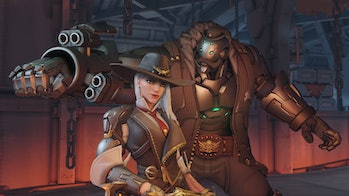 'Overwatch' Ashe and B.O.B.