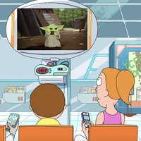 """'Rick and Morty' star on Baby Yoda: """"He's super cute!"""""""