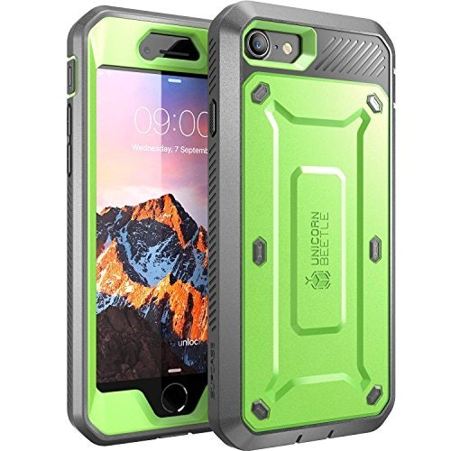 iPhone 7 Case, iPhone 8 Case, SUPCASE Unicorn Beetle PRO Series Full-body Rugged Holster Case with Built-in Screen Protector for Apple iPhone