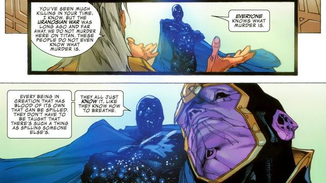 Kronos with Thanos