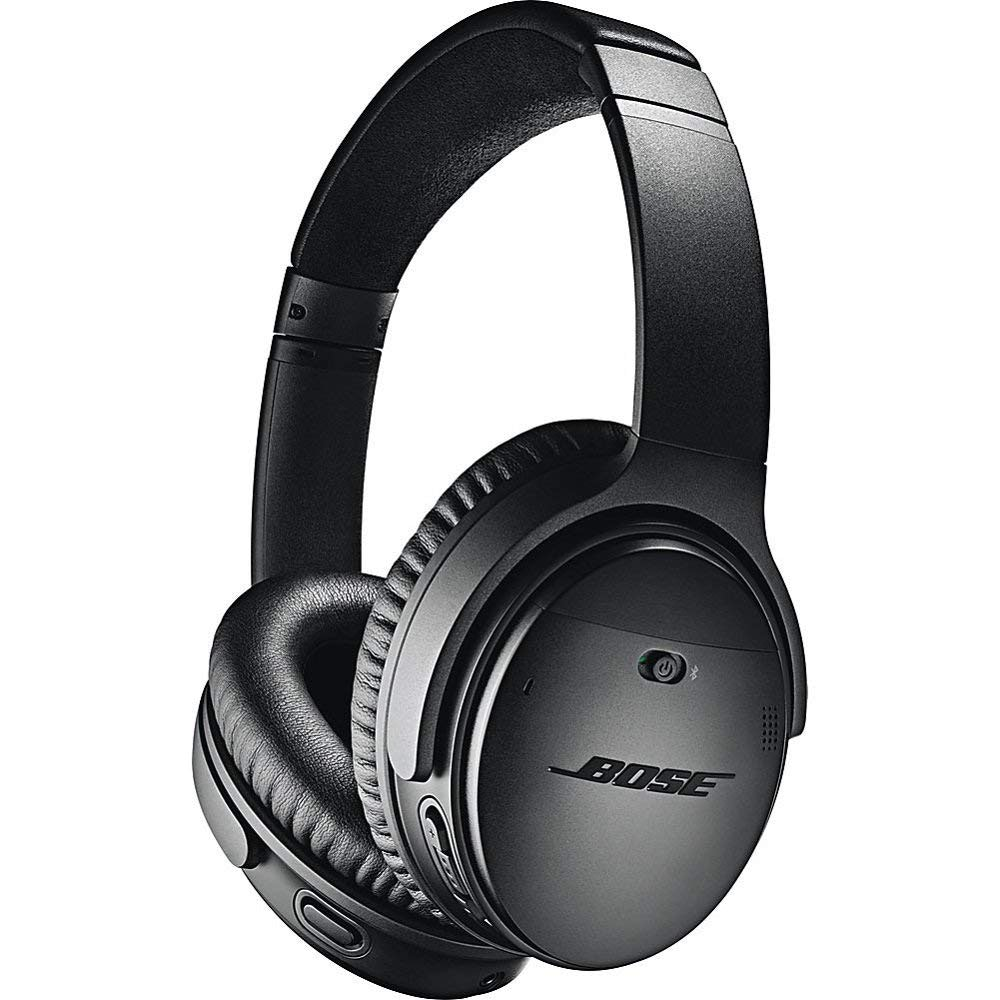 QuietComfort 35 Wireless Headphones II, Noise-Cancelling, with Alexa voice control, enabled with Bose AR