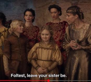 Foltest and Adda Netflix Witcher Timeline