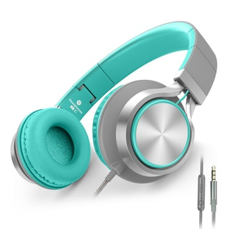 AILIHEN C8 Headphones with Microphone and Volume Control Folding Lightweight Headset