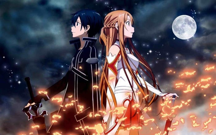 In 'Sword Art Online', everything depends on one hero to save thousands.