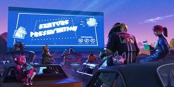 'Fortnite' Week 6 Road Trip Challenge Loading Screen