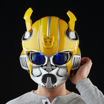 Transformers Bumblebee Bluetooth Helmet