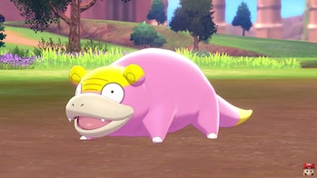 galarian slowpoke sword and shield