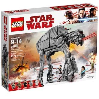 LEGO Star Wars Episode VIII First Order Heavy Assault Walker Building Kit