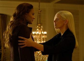 Sophie Turner and Jessica Chastain in 'Dark Phoenix'