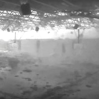 Video: Watch a Tornado Rip Through A School Gym