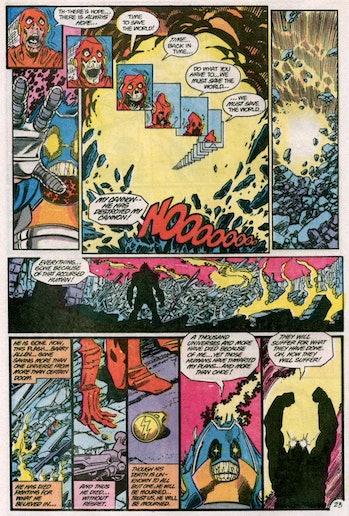 The Flash Crisis Savitar