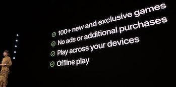 apple arcade announcement