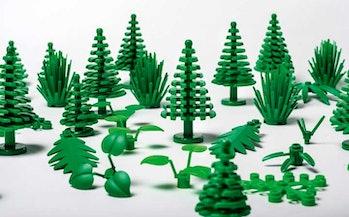 lego trees botanical sustainable