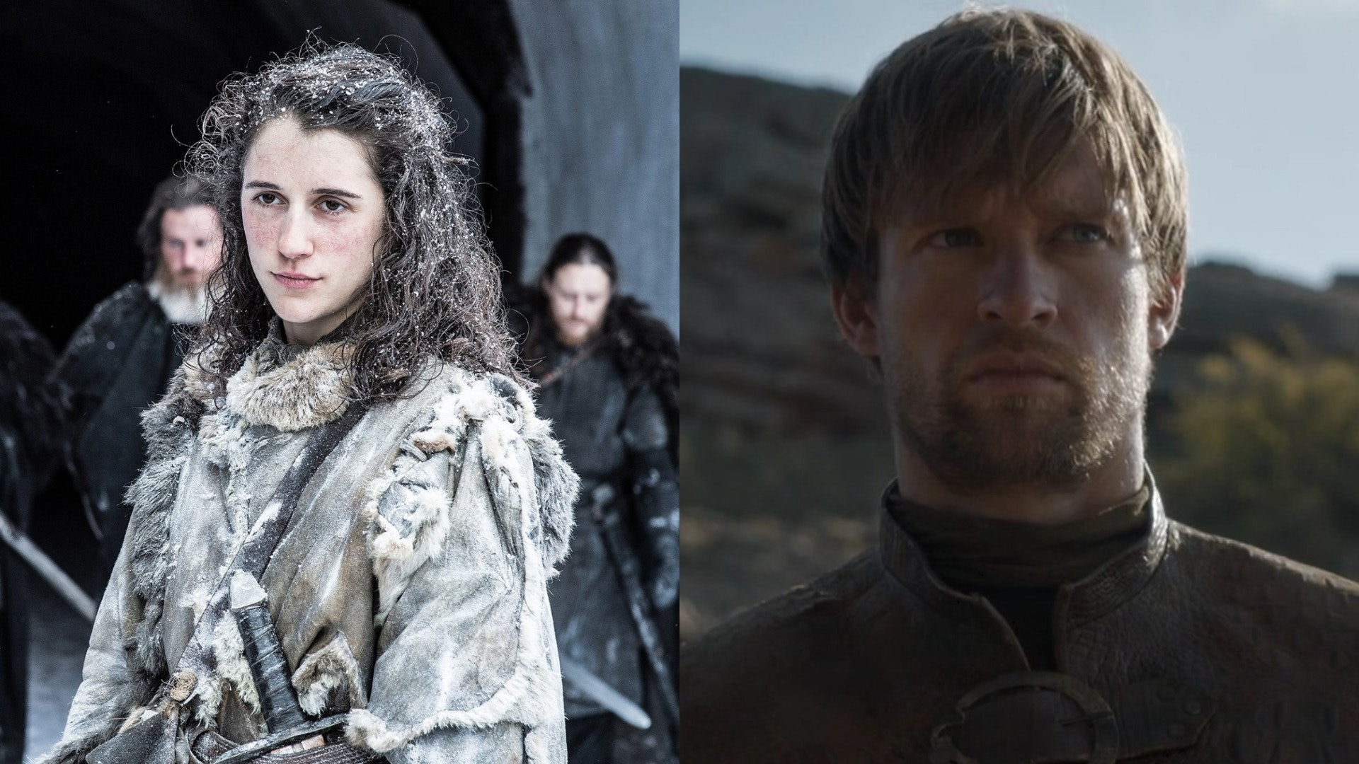 Game of Thrones Meera and Howland Reed