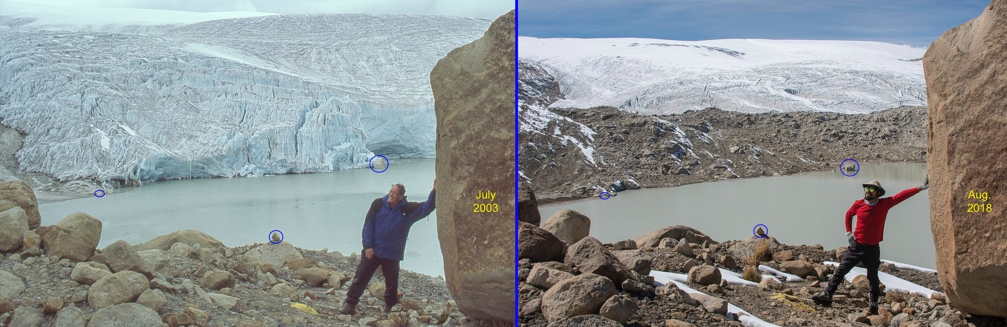 world's largest tropical ice cap at Quelccaya, Peru