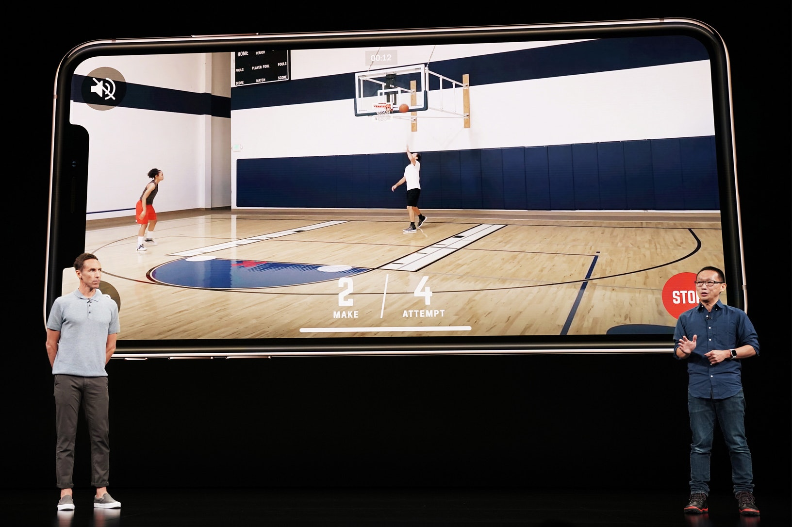 augmented reality homecourt