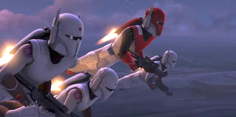 Mandalorians who worked for the Empire in 'Rebels'