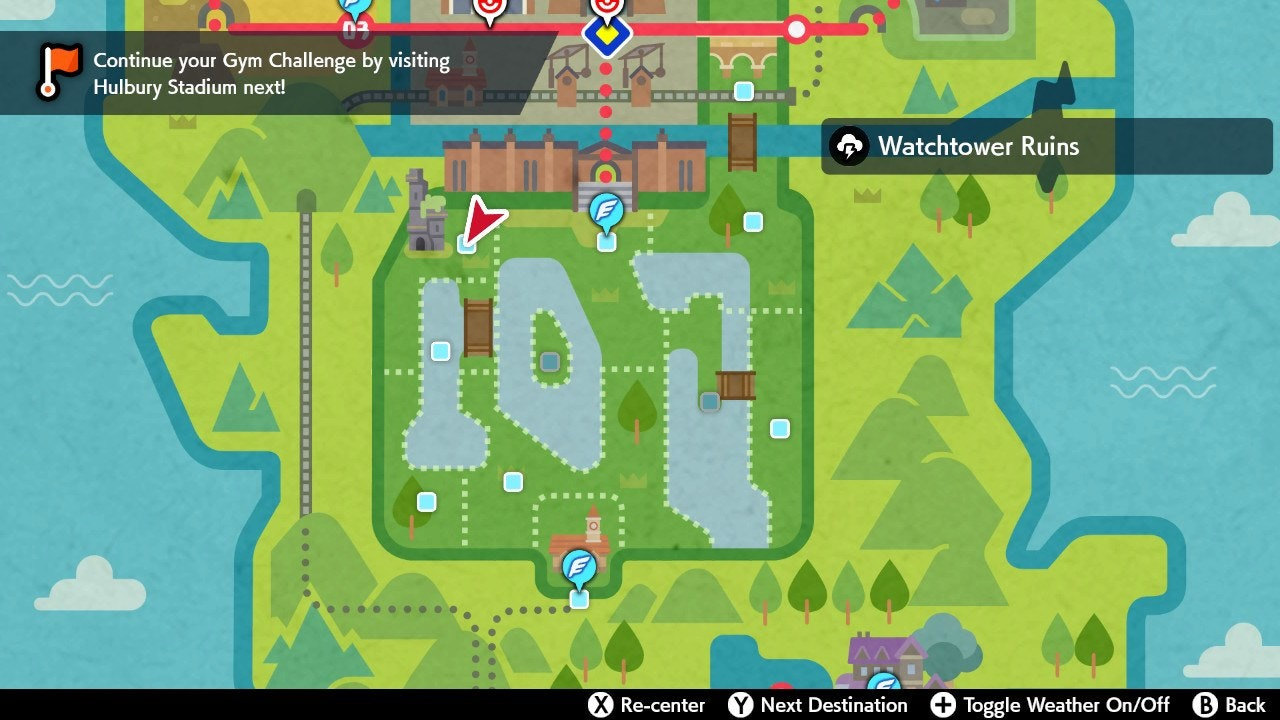 Watchtower Ruins Pokemon Sword and Shield