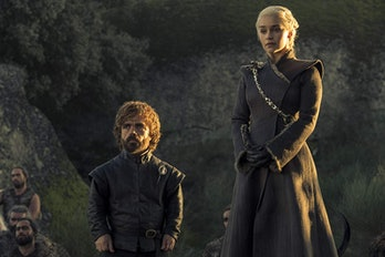 Peter Dinklage and Emilia Clarke on 'Game of Thrones' Season 7