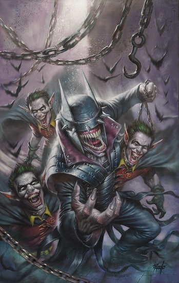 Batman Who Laughs Scott Snyder Lucio Parrillo
