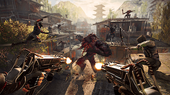 The game features a bevy of weapons to choose from.