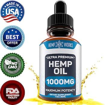 Hemp Works Ultra Premium Hemp Oil