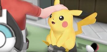 'Pokemon Let's Go' Pikachu