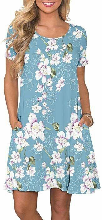 summer dress, dress, T-shirt dress