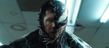 Tom Hardy as Eddie Brock in 'Venom'.
