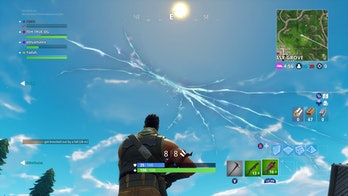 "'Fortnite"" Cracked Sky"