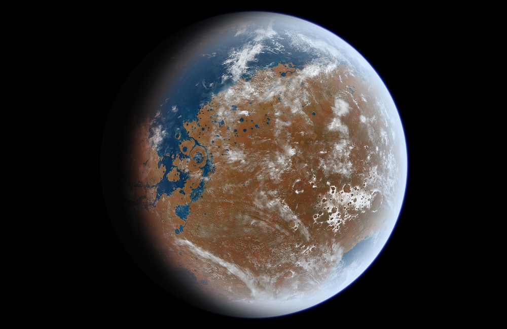 Mars has reserves of water-ice that rival Lake Superior.