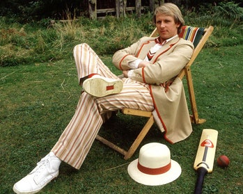 Peter Davison as the 5th Doctor