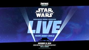 fortnite star wars rise of skywalker