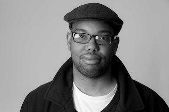 Ta-Nehisi Coates' author photo in 'The Atlantic'