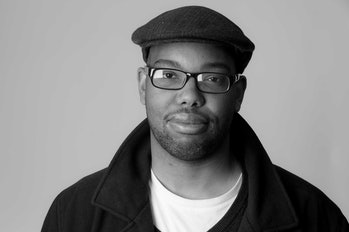 Ta-Nehisi Coates' author photo in 'The Atlantic'