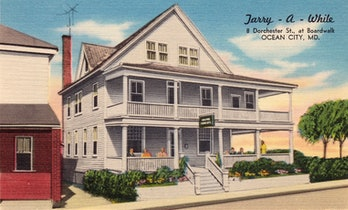 The Tarry-A-While tourist home in Ocean City, Maryland.