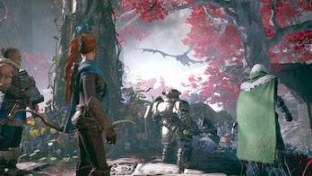 dark alliance gameplay