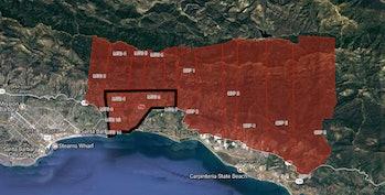 santa barbara county mudslide