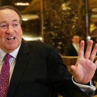 Grading Mike Huckabee's God-Awful Twitter Jokes