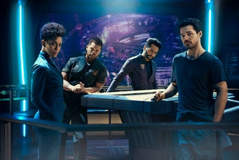The crew of the 'Rocinante' on 'The Expanse'