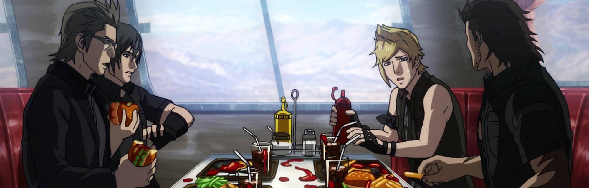 brotherhood final fantasy xv anime