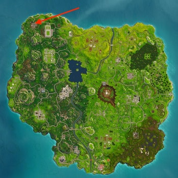 'Fortnite' Haunted Hills Treasure Map location solve week 9