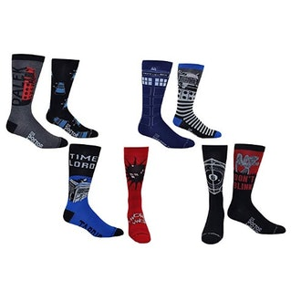 Doctor Who Socks Men's (8 Pair)