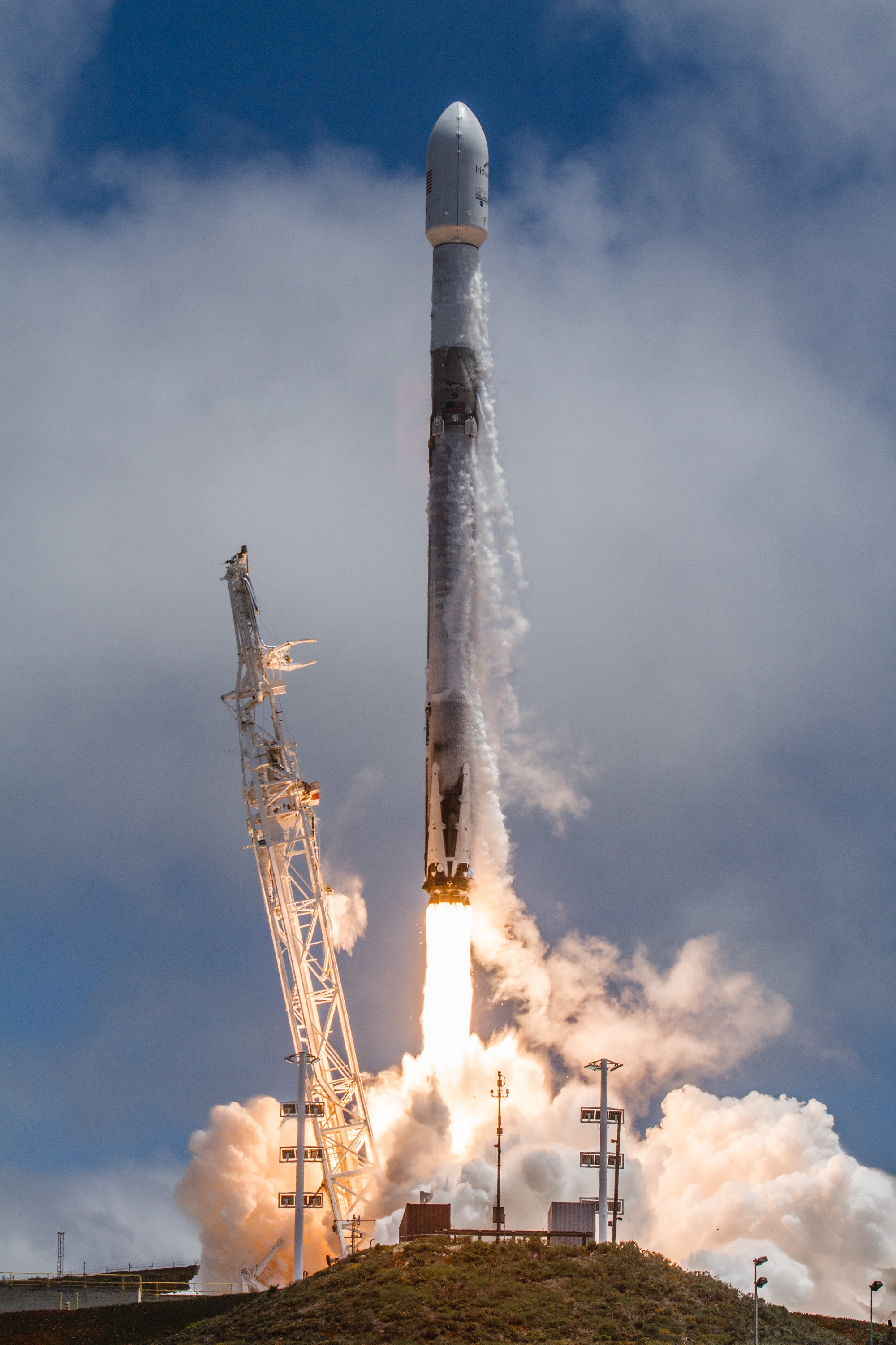 SpaceX GRACE-FO lift-off.