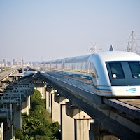 China's experimental maglev train could give hyperloop a run for its money