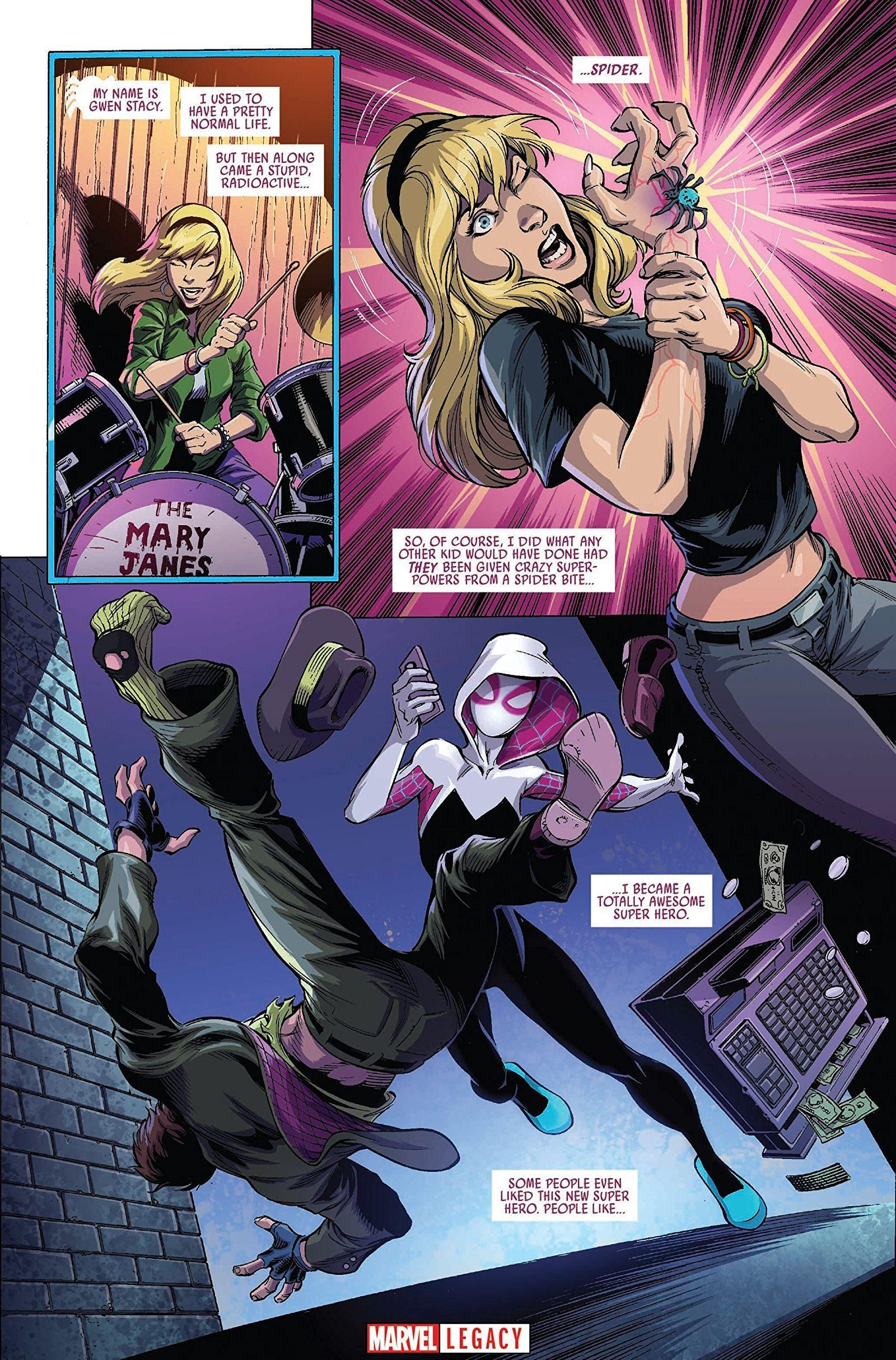 Spider-Gwen Spider-Verse