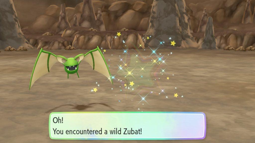 'Pokemon: Let's Go' Shiny Zubat